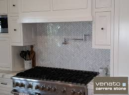 Marble Mosaic Backsplash Tile by Design Stylish Carrara Marble Herringbone Backsplash White Marble