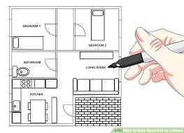 free house blueprint maker building blueprint maker image titled draw blueprints for a house