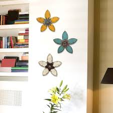diy wall decoration with flowers home decorating ideas children