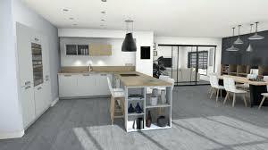 cuisine scandinave design cuisine scandinave les rayures motif appracciac dans la design