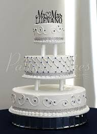tiered wedding cakes beautiful 3 tier wedding cakes
