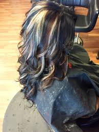 light brown hair with caramel highlights on african americans all over black with carmel brown and blonde peekaboo highlights