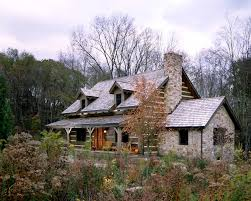 Timber Frame Cottage by Timber Frame Homes Log Homes Hearthstone Homes