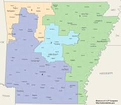 us map of arkansas arkansas s congressional districts