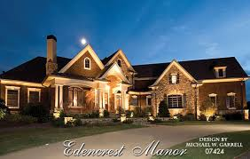 european luxury house plans edencrest manor house plan estate size house plans