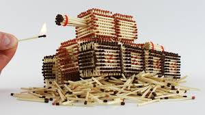 How To Make I How To Make A Tank From Matches Without Glue Will I Burn It