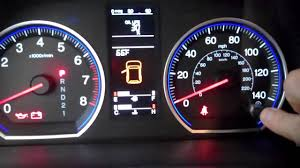 honda crv warning lights 2007 2012 reset oil life indicator honda youtube
