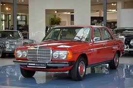 classic red mercedes mercedes benz 240 d w123 classic sterne