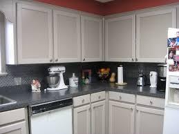 kitchen tin backsplash kitchen faux tin backsplash with gray countertop how to apply