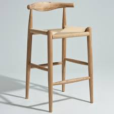 bar or counter stools hans wegner elbow bar stool