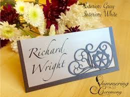 wedding place cards steunk wedding place cards name cards gears and hears table