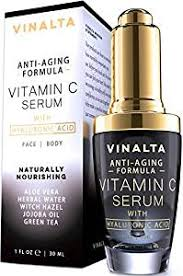 Serum Ql vitamin c serum with hyaluronic acid for by vinalta