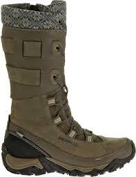 merrell womens boots size 12 merrell s polarand rove peak 200g waterproof winter boots