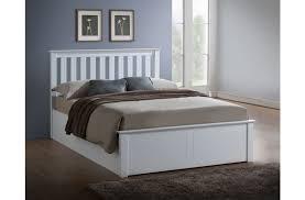 ottoman beds with mattress birlea phoenix white ottoman bed frame dublin beds