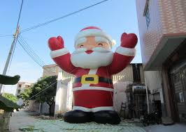 Outdoor Inflatable Christmas Ornaments by Attractive Outdoor Inflatable Christmas Decorations Blow Up Santa