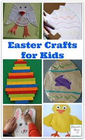 easter crafts for kids collage png