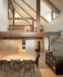 Old Modern Furniture by Modern Steel Cubes Complement 200 Year Old Stone House