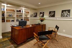 great basement office design adorable basement home office design