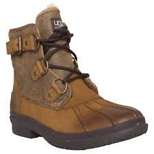 s ugg australia brown joey boots ugg australia ankle 100 leather boots for ebay