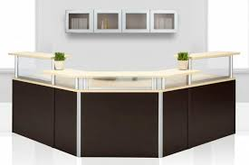 Modular Reception Desks Desk Design Ideas Cool Reception Desk Furniture Office Depot