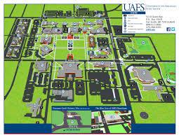 University Of Washington Campus Map by Uafs Campus Map By University Of Arkansas Fort Smith Issuu