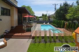 amenagement autour piscine hors sol conception fabrication et installation de patio autour d u0027une