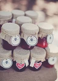 jam wedding favors edible fall wedding favors