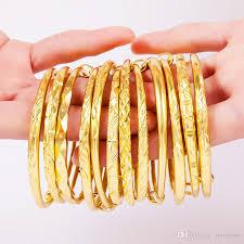 bracelet gold bangle images Ajustable dubai gold bangles women men gold bracelets african jpg