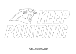 inspirational carolina panthers coloring pages coloring pages