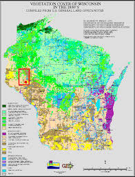 Wisconsin vegetaion images Between 1832 GIF