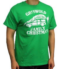 griswold family christmas t shirt green