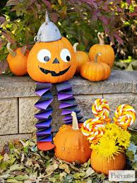 Pumpkin Decorating Without Carving Decorate For Halloween With No Carve Pumpkins