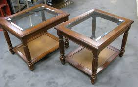 glass top end table with drawer espresso end table with glass insert top and drawer living room picture on