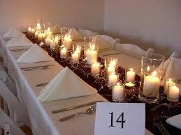 wedding table decorations candles u2013 cristinablog info
