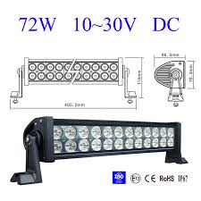Led Work Light Bar by 6000k Led Light Bar High Power Alloy Work Light 4wd Seckell