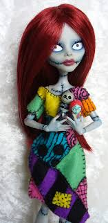 high custom sally from nightmare before
