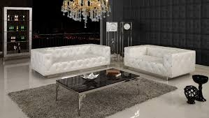Leather Button Sofa Living Room And Furniture Tufted Sofa For Designing The Living