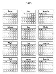 small printable calendars 2015 printable mini calendar capturing