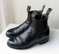 womens boots australia vintage black r m williams chelsea boots crafted in