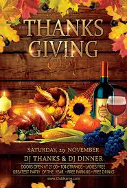 thanksgiving day flyer by oloreon graphicriver