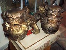 gold foo dogs foo dog gold antique figurines statues ebay