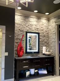 interior beautiful stacked stone backsplash stacked stone best