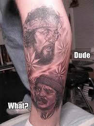 8 best craziest weed tattoos