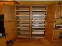Kitchen Storage Pantry Cabinets Cabinet U0026 Shelving Large Pantry Storage Cabinet Interior