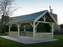 Best Picnic Shelters Images On Pinterest Shelters Picnics - Backyard shelters designs