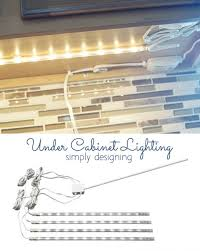 Lighting Under Cabinets Kitchen Best 25 Diy Kitchen Cabinet Lights Ideas On Pinterest Kitchen