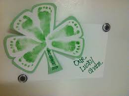 st patrick u0027s day baby feet idea craft ideas pinterest baby