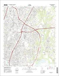 Map Of Areas To Avoid In New Orleans by The National Map Historical Topographic Map Collection