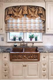 Ideas For Kitchen Window Treatments Kitchen Ideas Kitchen Window Treatments With Leading Kitchen