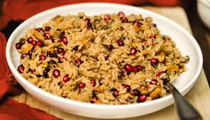 pomegranate pistachio rice pilaf diycandy
